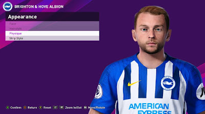 PES 2020 Faces Dale Stephens by Rachmad ABs