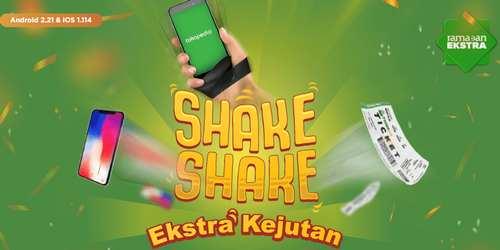 Shake-Shake Kejutan Hadiah