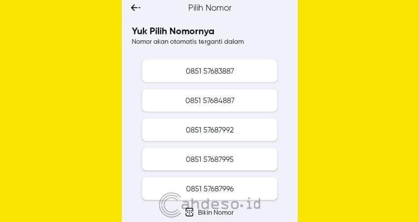 Pilih Nomor by U