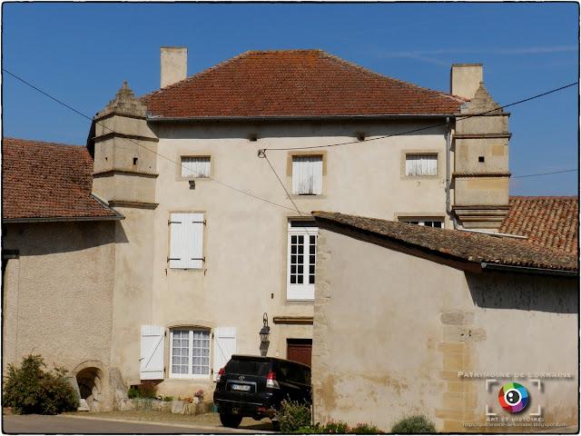 HATRIZE (54) - Maison-forte (XVIe-XVIIe siècle)