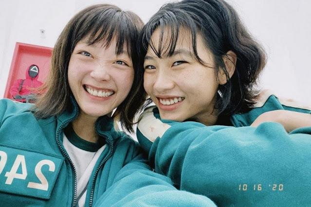 De 'Round 6' para a vida, Jung Ho Yeon fala sobre amizade com Lee Yoo Mi