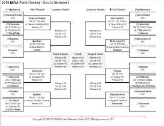FHS field hockey is #5 seed in the D1 South bracket