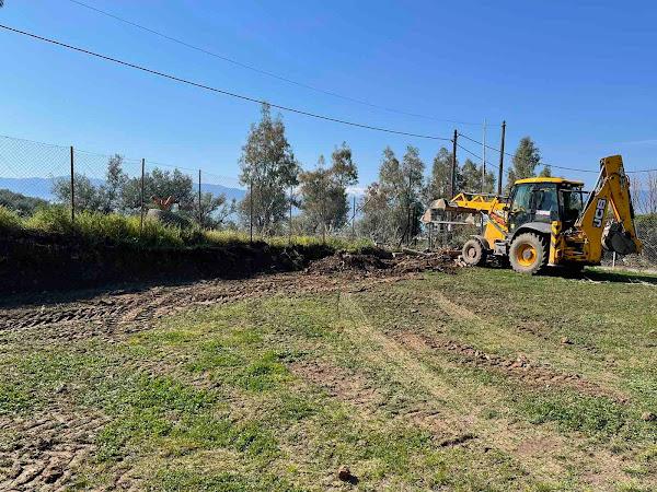 Στυλίδα: Άρχισαν οι εργασίες ανακατασκευής του γηπέδου των Ραχών