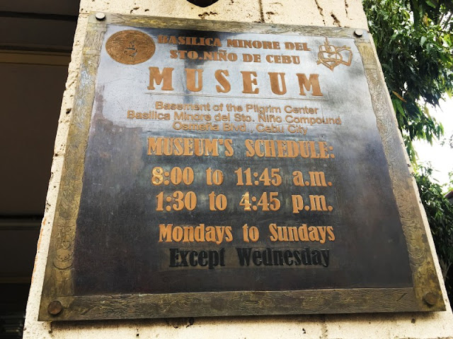 Basilica del Sto Nino Museum Schedules