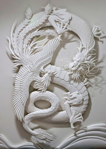 Simply Creative 3d Paper Sculptures Jeff Nishinaka