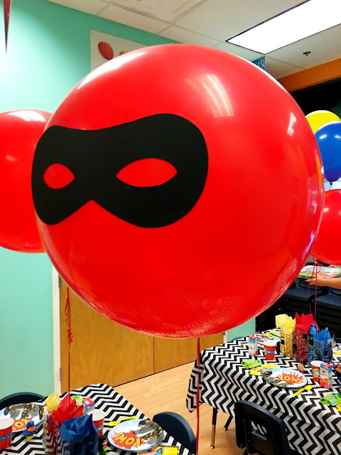 Superheros- Kids birthday party ideas - Superhero First Birthday Party Ideas by popular South Florida party blogger Celebration Stylist