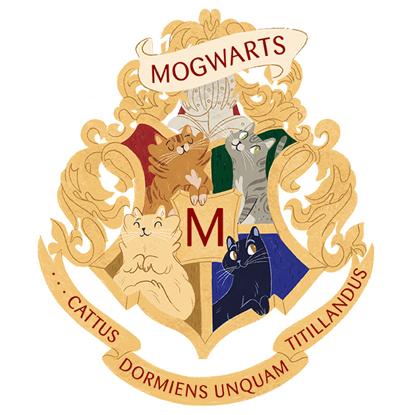 Mogwarts crest