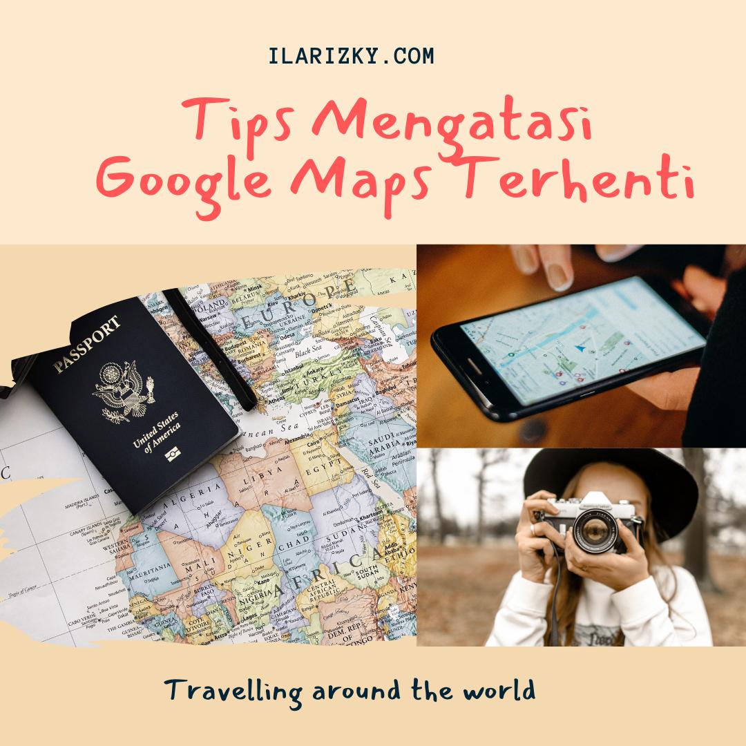 Tips Google maps error