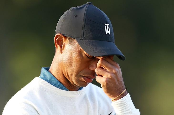 Tiger Woods Misses The Cut At U.S Open