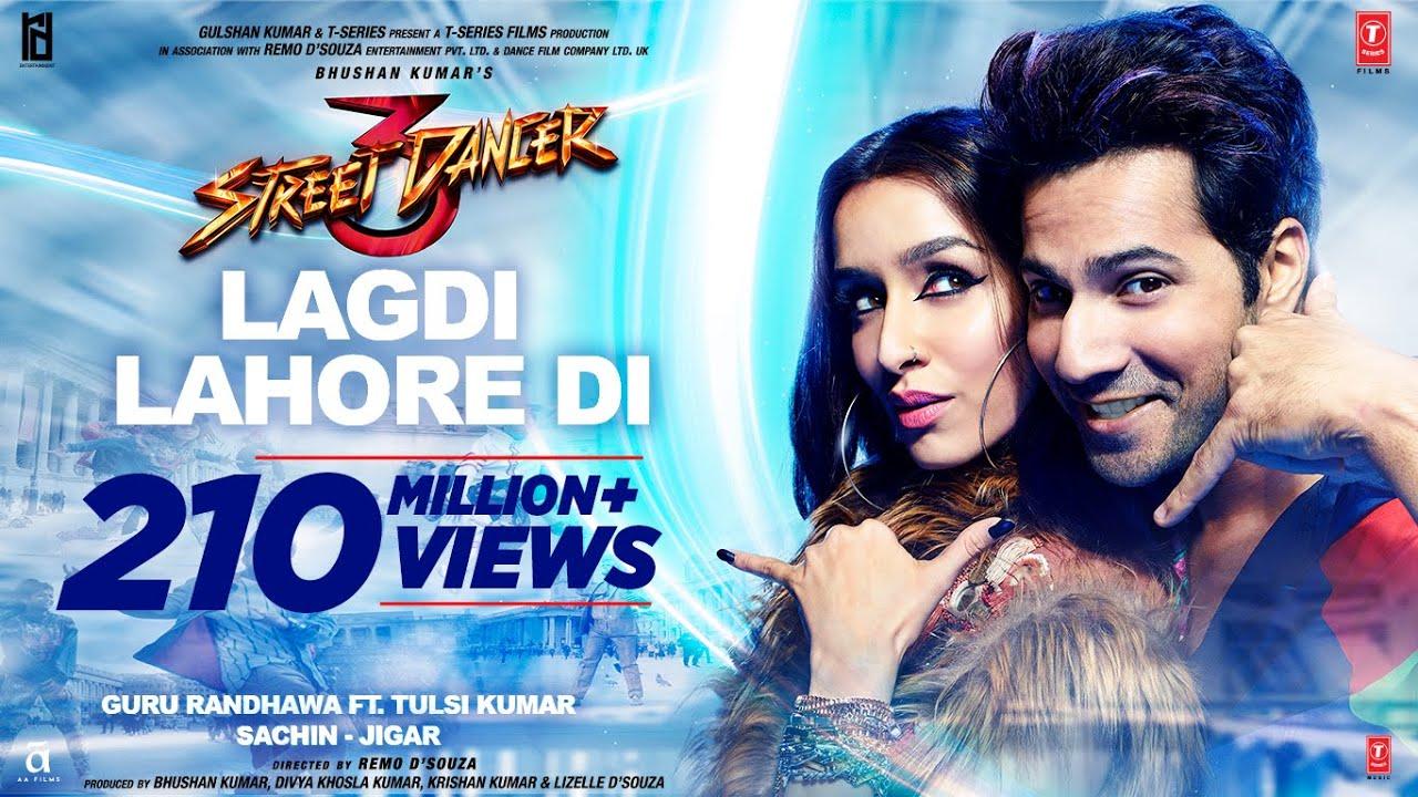 Lagdi Lahore Di Lyrics In Hindi Street Dancer 3D | Bollywood Song