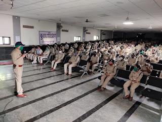 आगामी विधानसभा उपचुनावों के मद्देनजर बुरहानपुर पुलिस है तैयार