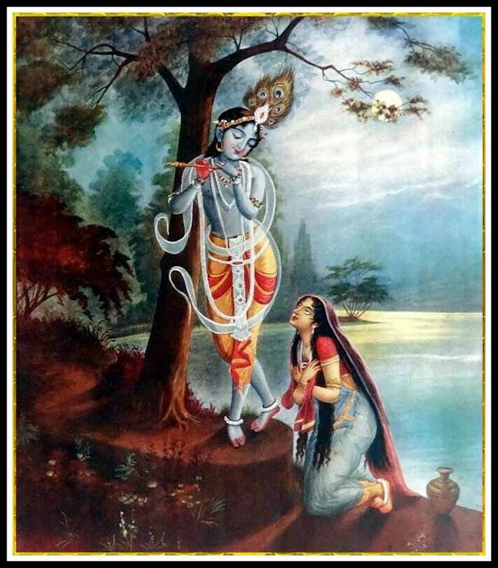 radha krishna art images