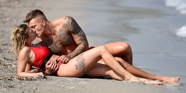 Love Island's hottest couple Olivia Buckland and Alex Bowen