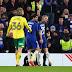 Eden Hazard menerima tampilan 'buruk' saat Chelsea bekerja keras di Piala FA menang atas Norwich