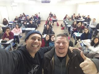 Turma do curso Preparatório para o Enem – Jaraguá do Sul 2018