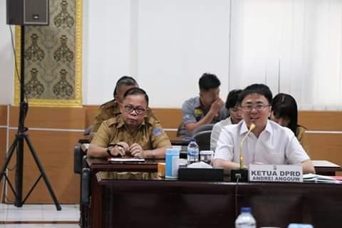 Komisi l DPRD Sulut, Silaturahmi Dengan Polda Sulut