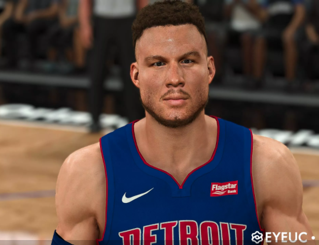 Blake Griffin Cyberface and Body Model by Noobmaycry [FOR 2K21]