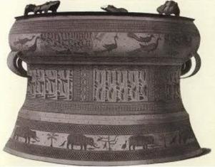 Kebudayaan Dongson, Sahuyinh, Dan India
