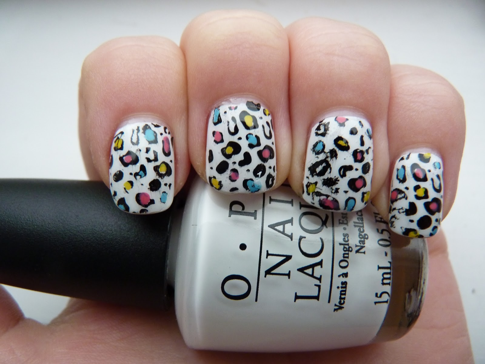 Diy Leopard Nail Art Tutorial