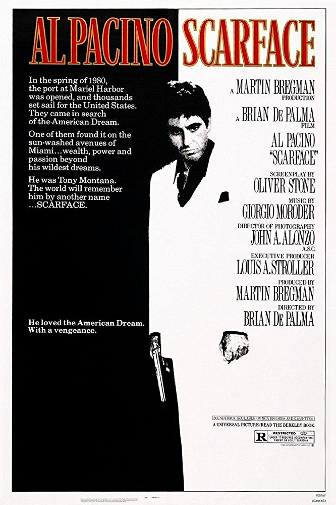 Scarface 1983 English Movie Bluray 720p With Bangla Subtitle
