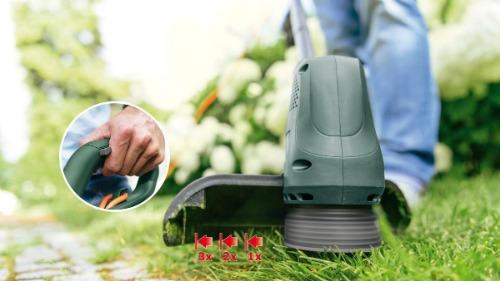 Goedkope grastrimmer elektrisch Bosch