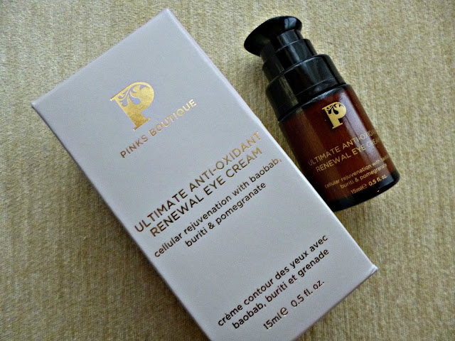 New in: Pinks Boutique Utimate Renewal Eye cream