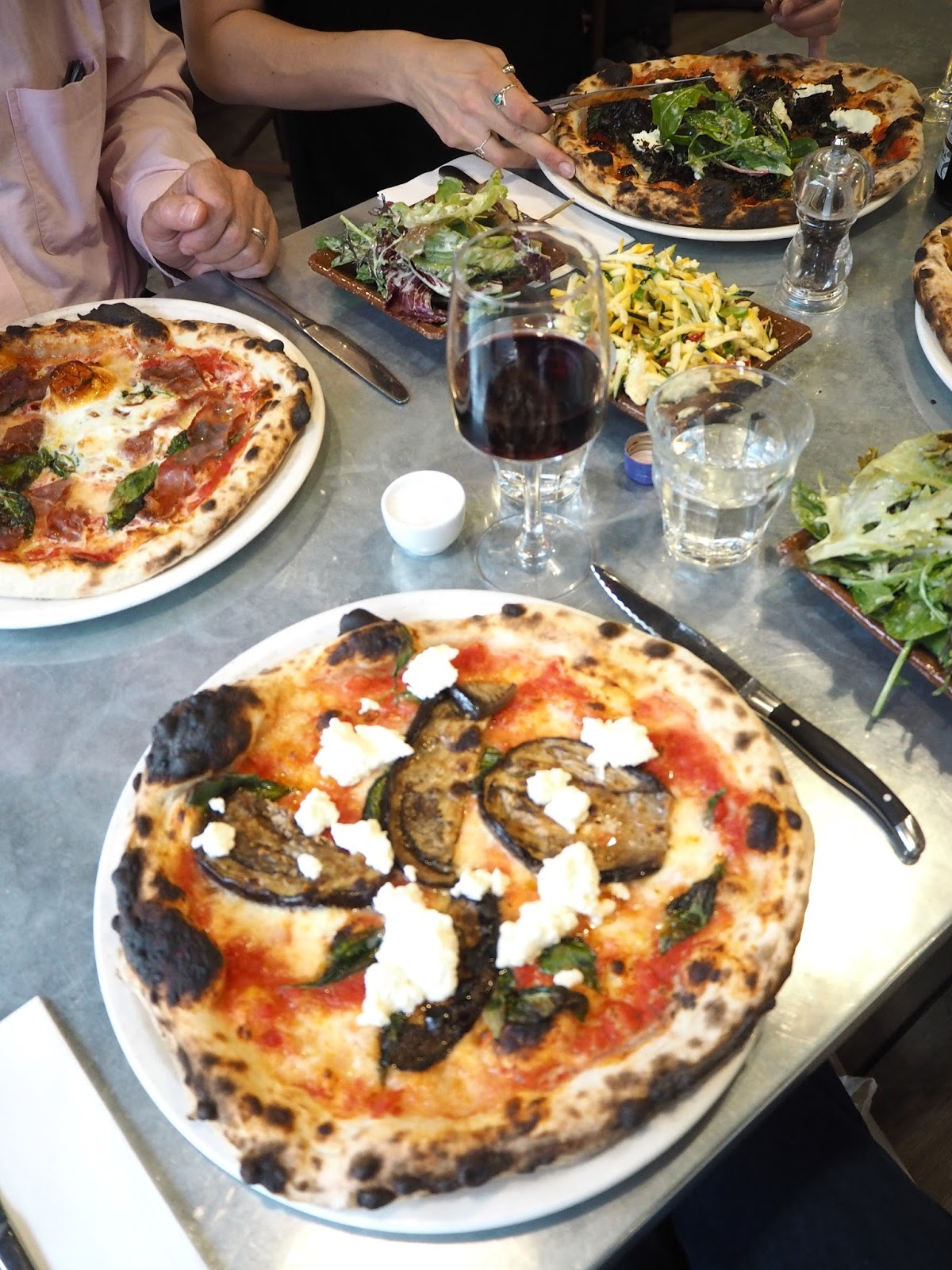 Flour and Ash pizza restaurant review Bristol