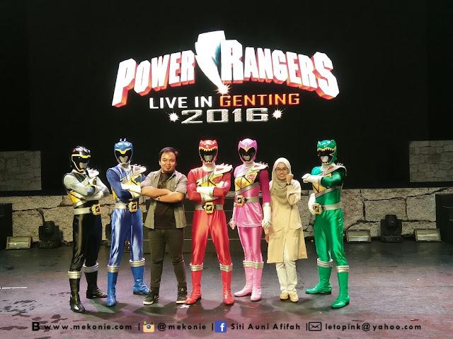 Power Rangers Dan Berbuka Puasa Di Awana Hotel,Resorts World Genting