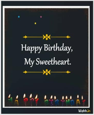 Birthday Wishes In Hindi For Lover Girlfriend