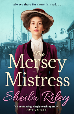 The Mersey Mistress by Sheila Riley book cover
