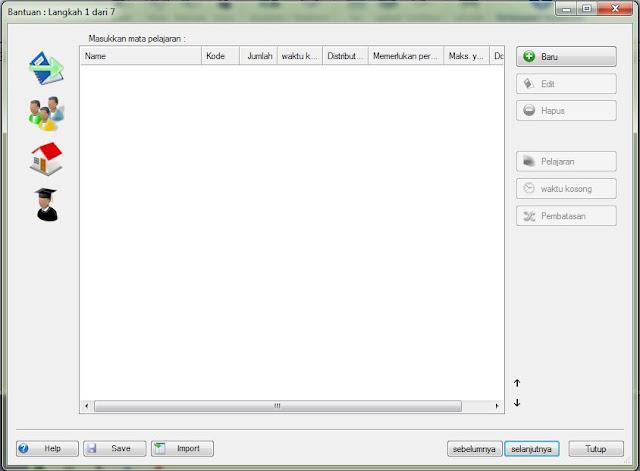 ASC TimeTable : Jadwal Pelajaran Otomatis - DE Blog's