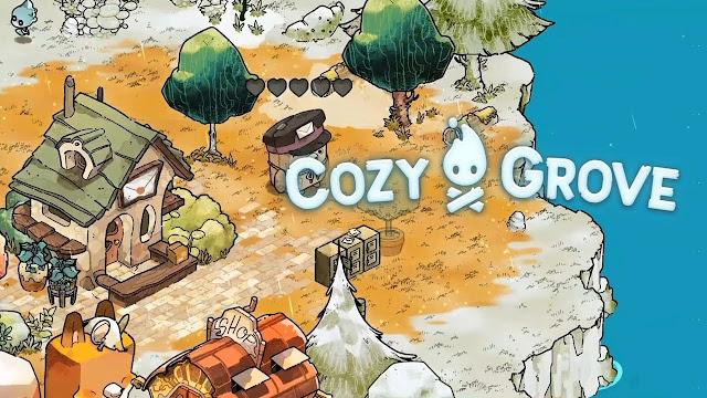 Cozy Grove, jogo sobre acampamento mal-assombrado, chega ao Switch no dia 8 de abril