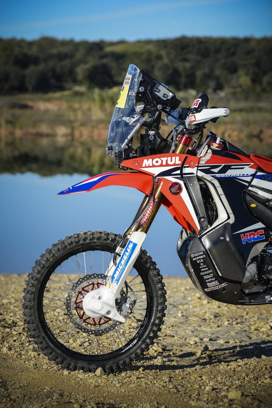 Racing Cafè: Honda CRF 450 Rally Team HRC - Dakar 2016