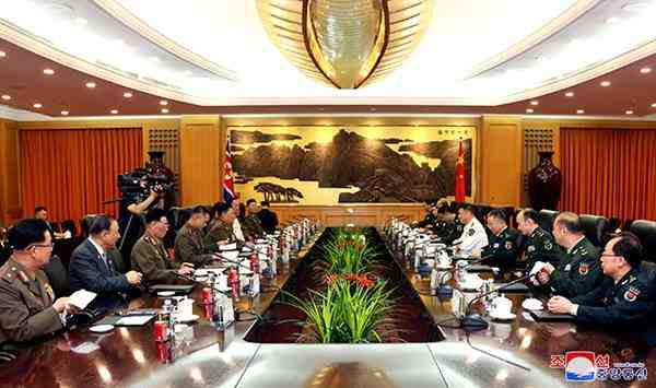 dprk china military talks