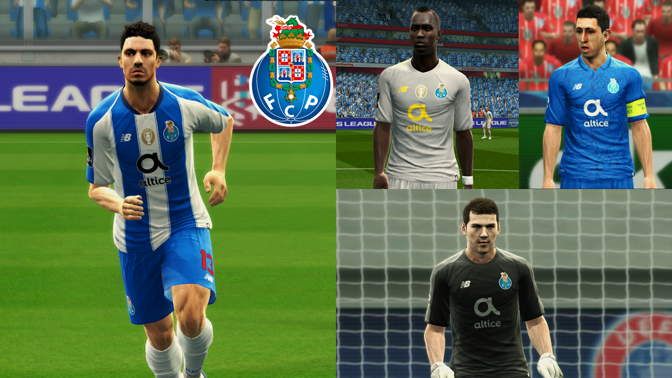 PES 2013 FC Porto 2018-19 GDB by Vulcanzero