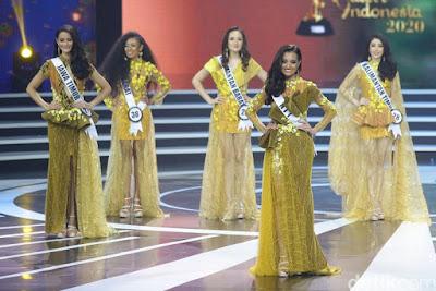 5 besar putri Indonesia 2020