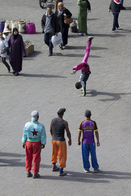 Artisti di strada-Piazza Djemaa El Fna-Marrakech