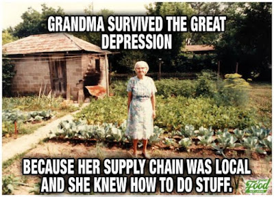 My grandma knew how to do things..