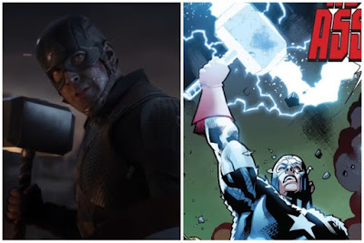 Worthy Marvel/MCU Characters to Lift Mjolnir-Captain America
