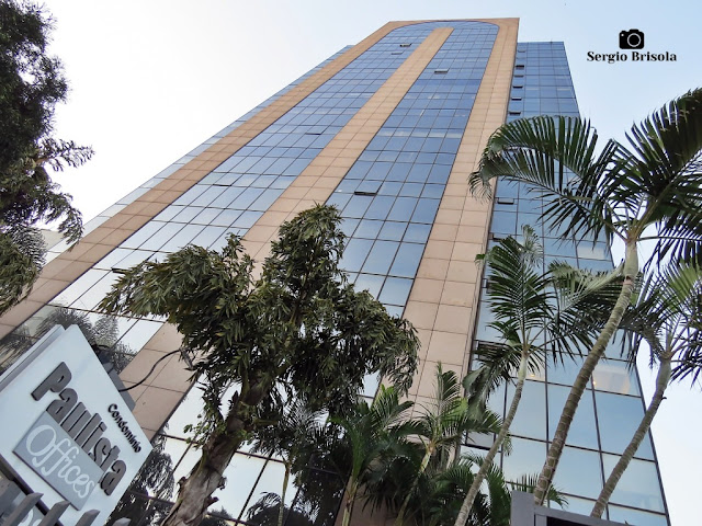 Perspectiva inferior da fachada do Edifício Paulista Offices - Vila Clementino - São Paulo