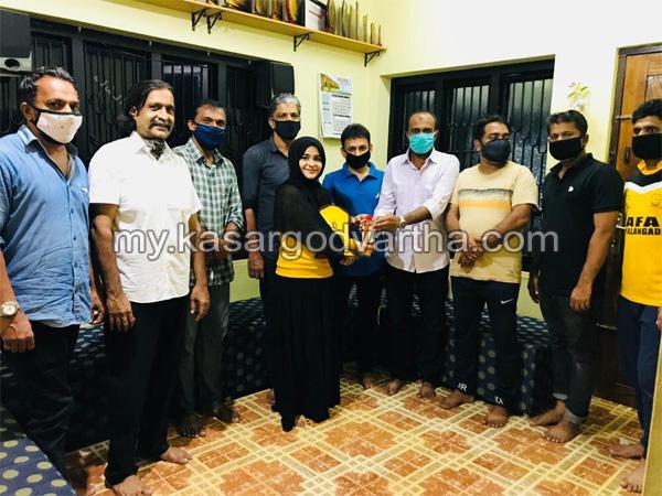 Kerala, News, Fathima Shaikha felicitated