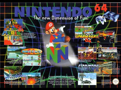 Poster Nintendo 64: the new dimension of fun