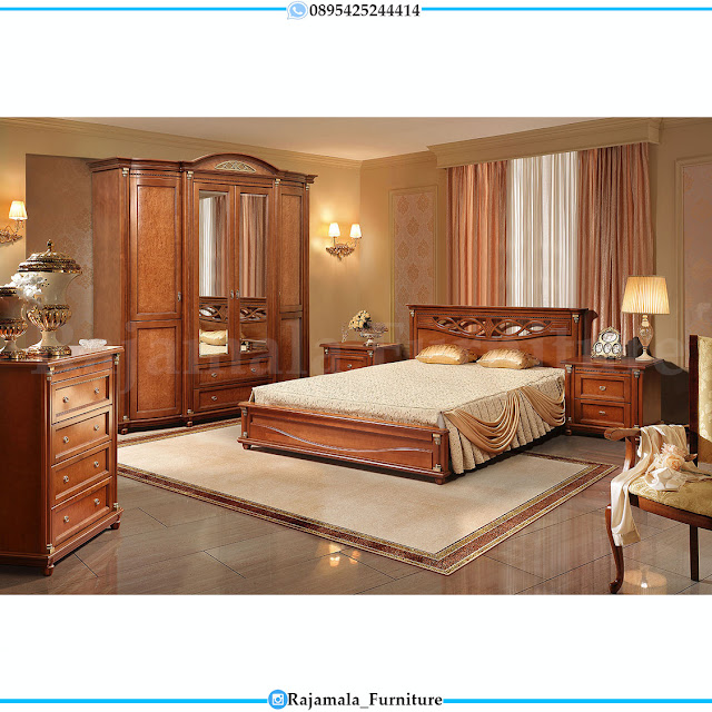 Set Tempat Tidur Minimalis Terbaru Modern Furniture Jepara RM-0289