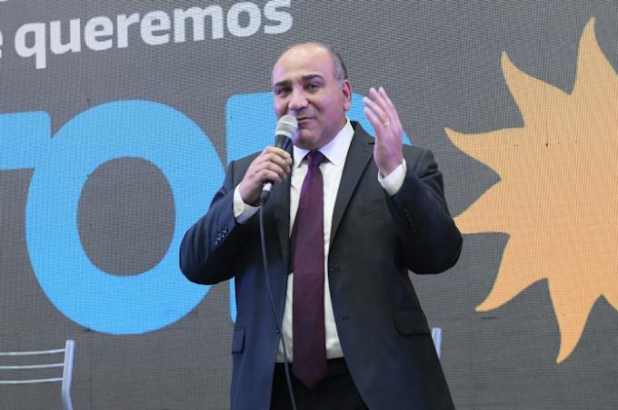 Manzur en el centro de la campaña electoral del Frente de Todos