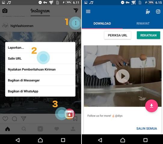 Top 7 Aplikasi Download Video Instagram Android Terbaik 2019