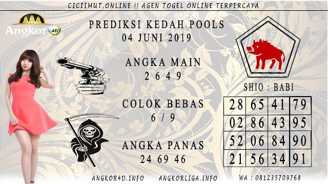 PREDIKSI KEDAH POOLS 04 JUNI 2019