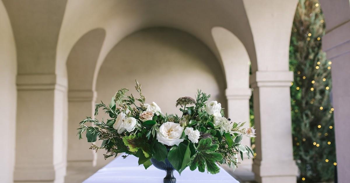 Amber reverie floral and event design italian inspired all white garden wedding for Loggia garden thanksgiving point