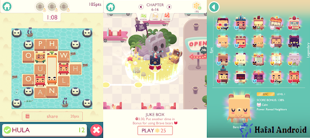 Alphabear: Words Across Android