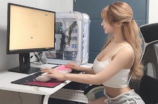 Lee Seo Young - Anh dạy em cách dùng máy tính nhé
