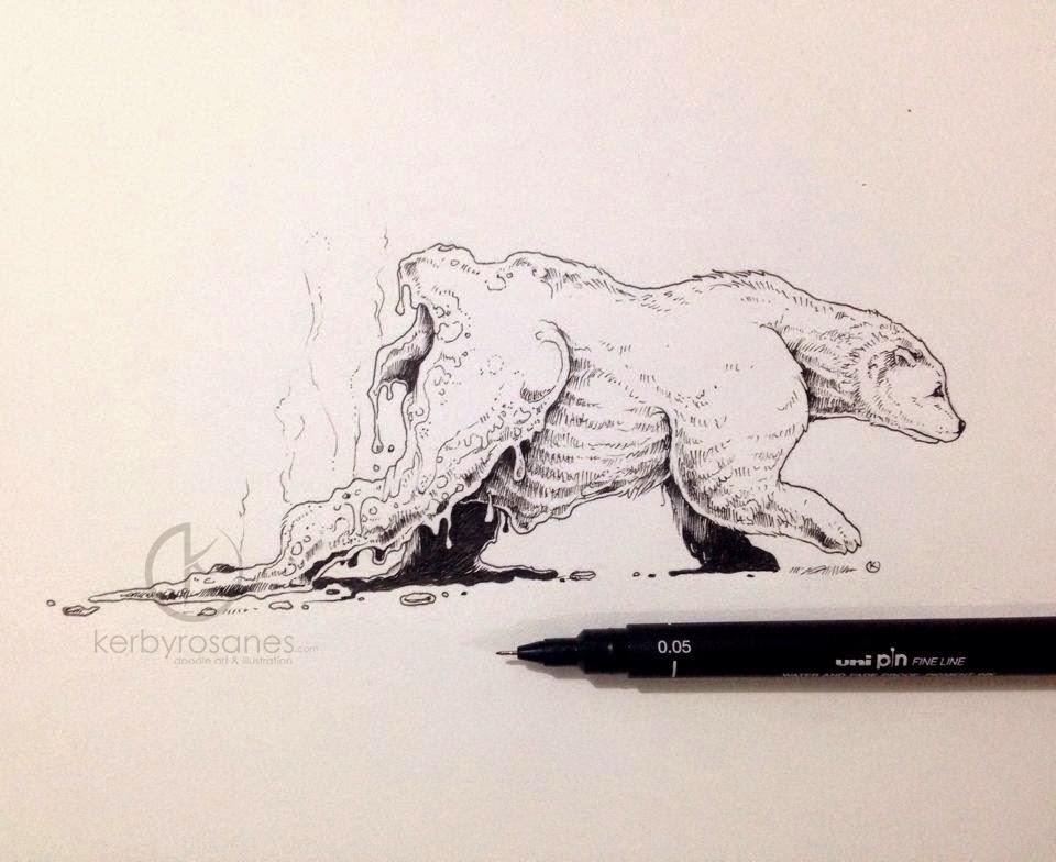 22 Global Warning Kerby Rosanes Detailed Moleskine Doodles